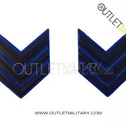 Coppia di Gradi Metalli Esercito Italiano Caporal Maggiore VFP4