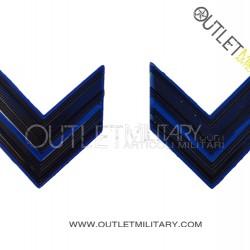 Coppia di Gradi Metalli Esercito Italiano Caporale VFP4