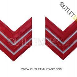 Coppia di Gradi Metalli Carabinieri Appuntato Scelto