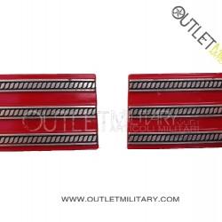 Coppia di Gradi Metalli Carabinieri 1° Maresciallo