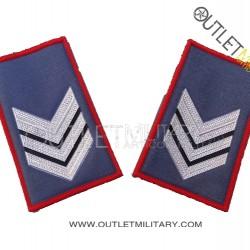 Coppia di Gradi Tubolari Estivo Carabinieri Brigadiere