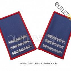 Coppia di Gradi Tubolari Estivo Carabinieri Maresciallo Capo
