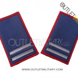 Coppia di Gradi Tubolari Estivo Carabinieri Maresciallo Ordinario