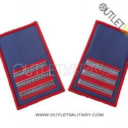 Coppia di Gradi Tubolari Estivo Carabinieri 1° Maresciallo