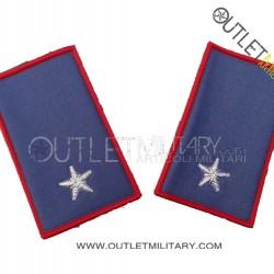 Coppia di Gradi Tubolari Estivo Carabinieri Sottotenente
