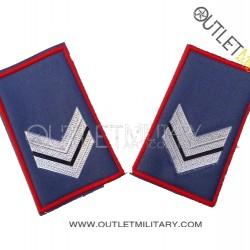 Coppia di Gradi Tubolari Estivo Carabinieri Vice Brigadiere