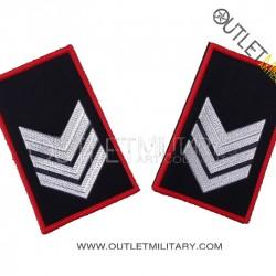 Coppia di Gradi Tubolari Invernali Carabinieri Brigadiere