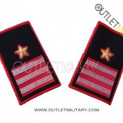 Coppia di Gradi Tubolari Invernali Carabinieri Luogotenente