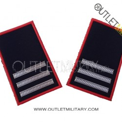 Coppia di Gradi Tubolari Invernali Carabinieri Maresciallo Capo