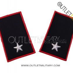 Coppia di Gradi Tubolari Invernali Carabinieri Sottotenente