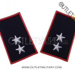 Coppia di Gradi Tubolari Invernali Carabinieri Tenente