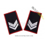 Coppia di Gradi Tubolari Invernali Carabinieri Vice Brigadiere