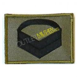 Grado Velcro Esercito Italiano 1° Caporal Maggiore Bassa visibilità