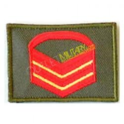 Grado Velcro Esercito Italiano Caporal Maggiore Capo Scelto