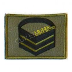 Grado Velcro Esercito Italiano Caporal Maggiore Capo Bassa visibilità