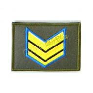 Grado Velcro Esercito Italiano Sergente Maggiore (Aviotruppe)