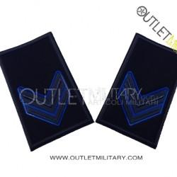 Coppia di Gradi Tubolari Esercito Italiano Caporale VFP4
