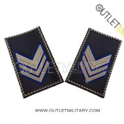 Coppia di Gradi Tubolari Esercito Italiano Sergente Maggiore (Aviotruppe)