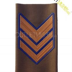 Grado Tubolare Bassa Visibilità in Plastica Esercito Italiano Sergente Maggiore (Aviotruppe)