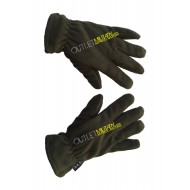 Fleece gloves army green