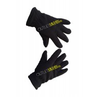 Fleece gloves black