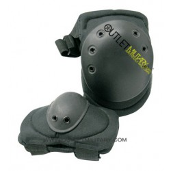 SET KNEE/ELBOW PADS BLACK