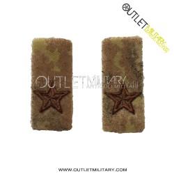 Coppia di Stellette in velcro (Nuovo Uniformo da Combattimento)
