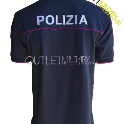 Polo Polizia di Stato Mod. Polipropilene Microfibra