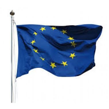 Bandiera Europa 90x150 cm in Poliesere Lucido