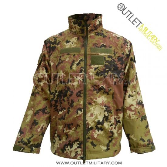 Uniforme Vegetato Italiano giacca Zip e pantalone 10 tasche