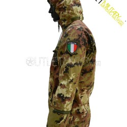 Thermal italian camouflage jacket