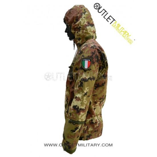 Termico Vegetato E Mimetico Militare Giacca Impermeabile AR5jL34