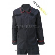 Uniform Operating Carabinieri Ripstop With Polyfilo Navy