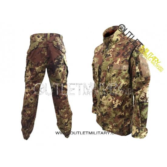 New Italian camouflage IR BDU cotton ripstop