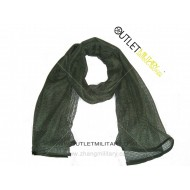 Scarf network army green