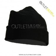 Fleece cap 3 points black