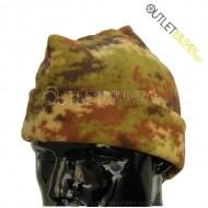 Fleece cap 3 points army camouflage
