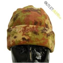 Fleece round cap camouflage