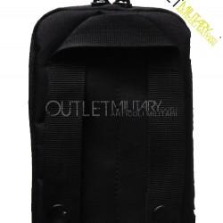 Little bag with multi-purpose system M.O.L.L.E. black