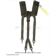 Bretelle/Spallacci Suspender LC2 Militari Verde
