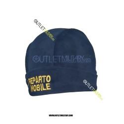 Cappello in Pile Blu POLZIA REPARTO MOBILE