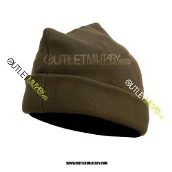 Cappello 3 Punti in Pile Antipilling Verde Militare