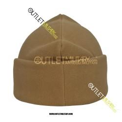 Cappello 3 Punti in Pile Antipilling Tan/Coyote