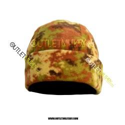 Cappello Tondo Pile Antipilling Vegetato Italiano