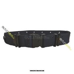 Cinturone Tattico H 5,50 cm con Fibbia di sicurezza Blu Navy