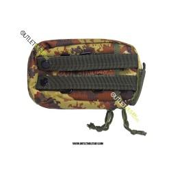 Tasca Giberna militare con Apertura per l'antenna Vegetato