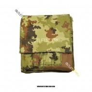 Borsino Porta Block Notes Militare Vegetato
