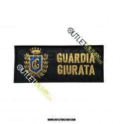 Patch Velcro Guardia Giurata con Stemma GPG