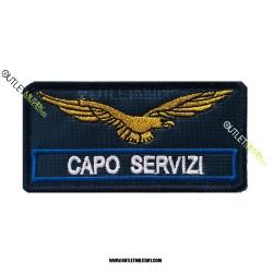 Patch  Guardia Giurata CAPO SERVIZI