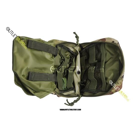 Tasca Giberna Tattica in Sistema Molle Vegetato per il trasporto di materiale per il pronto soccorso